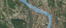 L'Adige a Trento 1803-2017