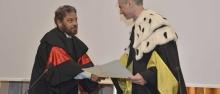 Il titolo di professore onorario a Bornstein ©Giovanni Cavulli