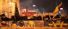 Barricate in Ucraina per l'entrata nell'UE ©costituendo Museo della rivoluzione della dignità