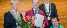 Laurea honoris causa a Giorgio Vallortigara a Bochum