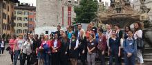 Una trentina di funzionari europei in visita all'Ateneo