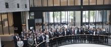 La firma in occasione dell'Intellectual Property Crime Coordinated Coalition ©Europol