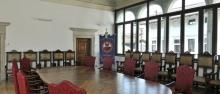 Rettorato, Sala degli Stucchi. Sede delle riunioni del CdA ©Giovanni Cavulli