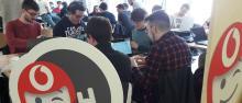 Hackathon Vodafone durante gli ICT Days 2019