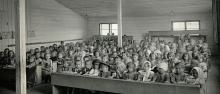Istituto di sorveglianza per bambini dentro al Barackenlager di Chotzen