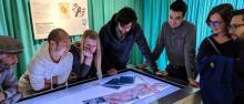 team di ricerca al Museo archeologico dell'Alto Adige ©UniTrento