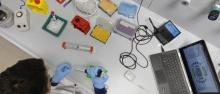 Laboratorio di RNA Biology and Biotechnology del Cibio ©AlessioCoser