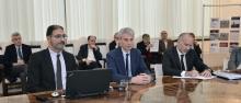 Pellacani, Collini and Finocchiaro during the press conference (©GiovanniCavulli)