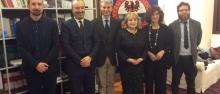 La delegazione serba ©UfficioStampaUniTrento