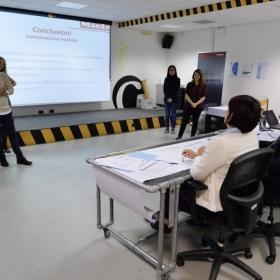 presentazione dei progetti davanti al board di Miele ©Alessio Coser