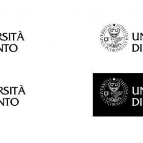 Le possibili declinazioni del nuovo logo UniTrento