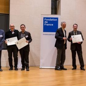 La premiazione Photo © A.Guerra/Fondation de France