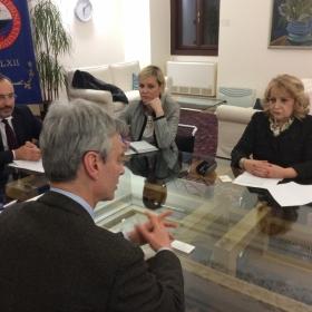 L'incontro con la delegazione serba ©UfficioStampaUniTrento