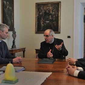 rinnovata la convenzione tra Arcidiocesi e Università di Trento (©Gianni Zotta)