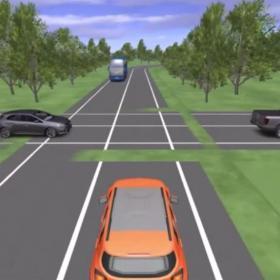 dal video sulle abilità emergenti della guida autonoma di Dreams4Cars